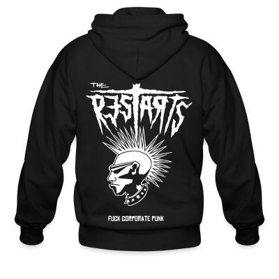 Zip hoodie The Restarts - Fuck corporate punk