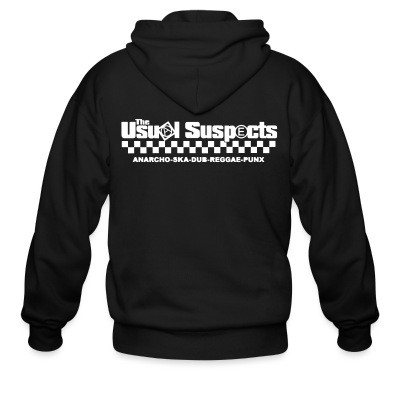 Zip hoodie The Usual Suspects - anarcho-ska-dub-reggae-punx
