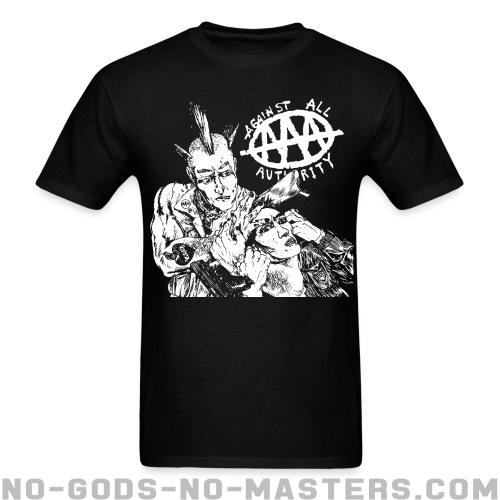Against All Authority - AAA - Band Merch T-shirt