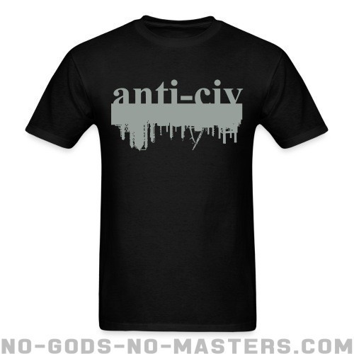 Anti-civ - Eco-friendly T-shirt
