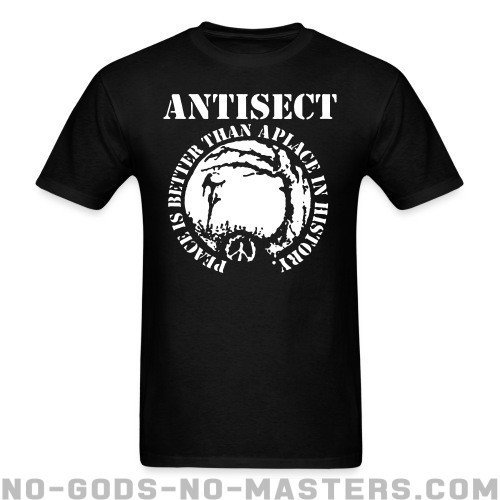 Antisect - Peace is better than a place in history - Band Merch T-shirt