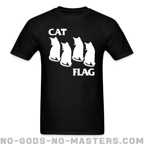 Standard t-shirt (unisex) Cat Flag  - Funny Shirt