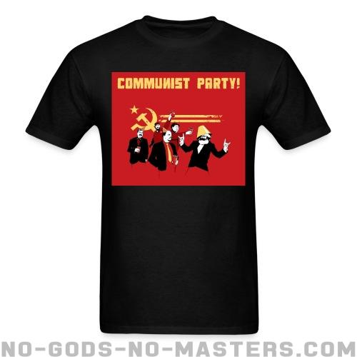 Standard t-shirt (unisex) Communist party! - Funny Shirt