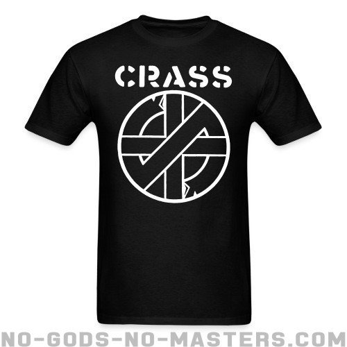 Crass - Band Merch T-shirt