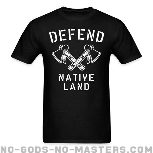 Standard t-shirt (unisex) Defend native land - Activist Shirts
