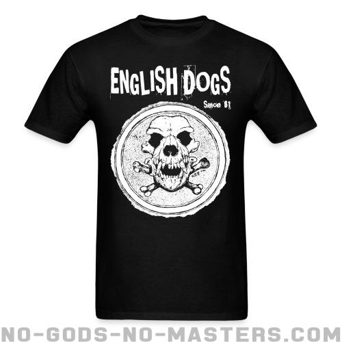 English Dogs - Since 81 - Band Merch T-shirt