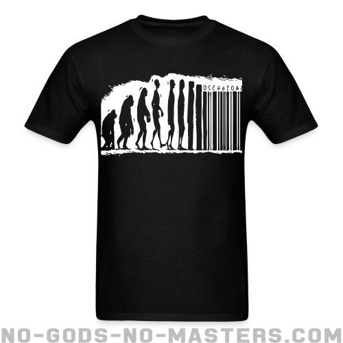 Evolution barcode - Activist T-shirt