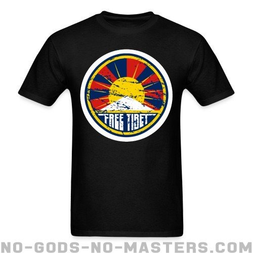 Free tibet - Anti-war T-shirt