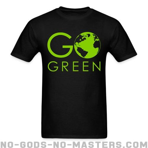 T-shirt ♂ Go green - Environment & ecology