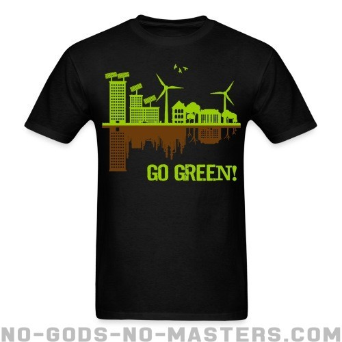 Go green! - Eco-friendly T-shirt