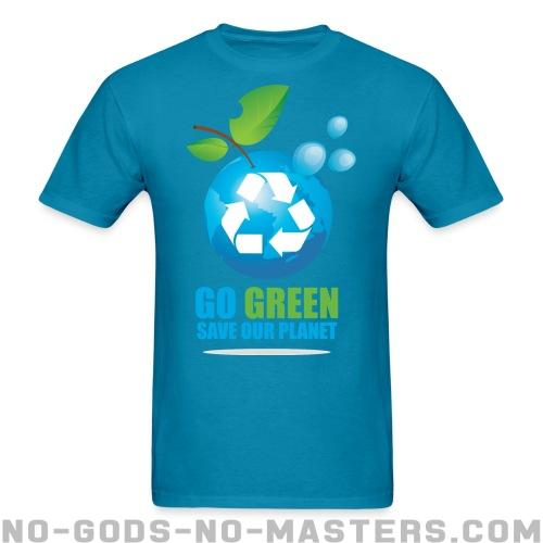 Go green save our planet - Eco-friendly T-shirt