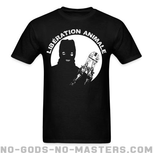 Standard t-shirt (unisex) Libération animale - Animal liberation