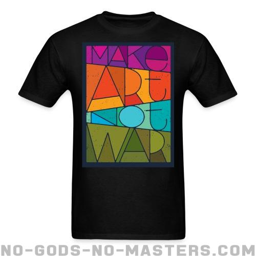 Camisetas para hombre Mark art not war - Stop war