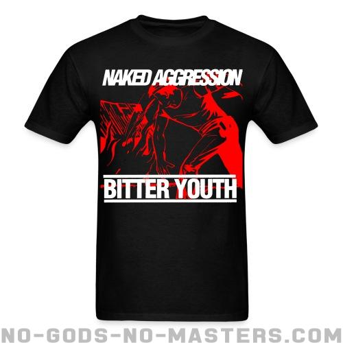 Standard t-shirt (unisex) Naked aggression bitter youth  -