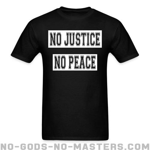 Standard t-shirt (unisex) No justice no peace - ACAB & police abuse