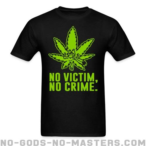 T-shirt ♂ No victim, no crime. - Funny t-shirts