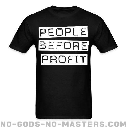 People before profit - Activist T-shirt