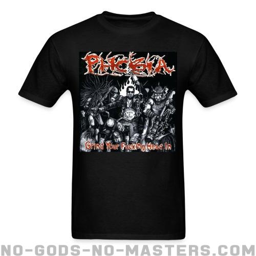 Phobia - Grind your fucking head in - Band Merch T-shirt