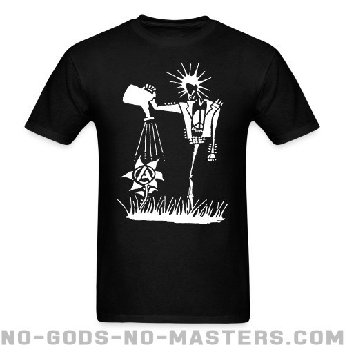 Punk planting the seeds of Anarchy - Punk T-shirt