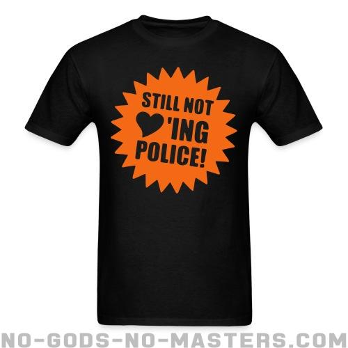 Standard t-shirt (unisex) Still not loving police - ACAB & police abuse