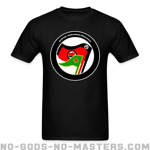 Support worldwide resistance - Rojava T-shirt