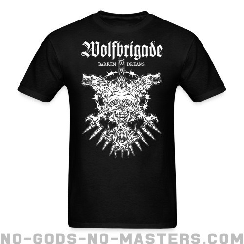 Wolfbrigade barren dreams - Band Merch T-shirt