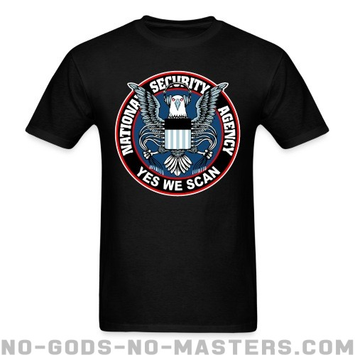 Yes we scan - National Security Agency (NSA) - ACAB T-shirt