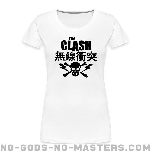 The Clash - Band Merch Women Organic