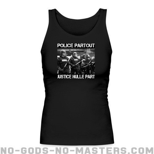 Police partout justice nulle part - ACAB Women tank tops