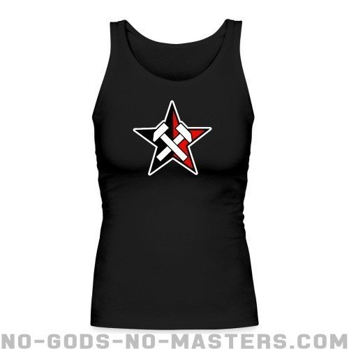 Working Class Black & Red Star - Working Class Women tank tops