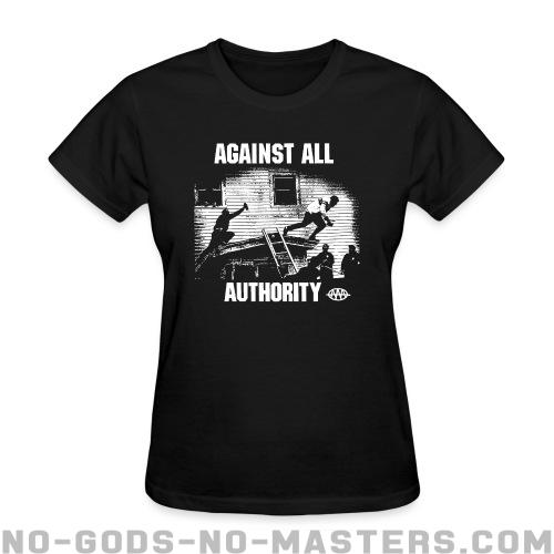 Against All Authority - Band Merch Women T-shirt