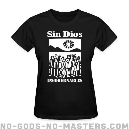 Sin Dios - ingobernables - Band Merch Women T-shirt