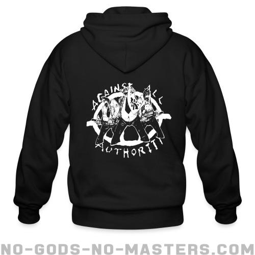 Against All Authority - Band Merch Zip hoodie