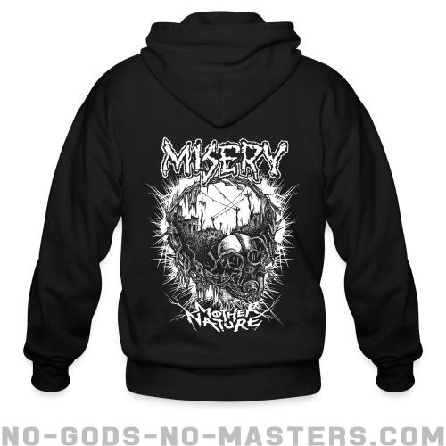 Misery - Mother nature - Band Merch Zip hoodie