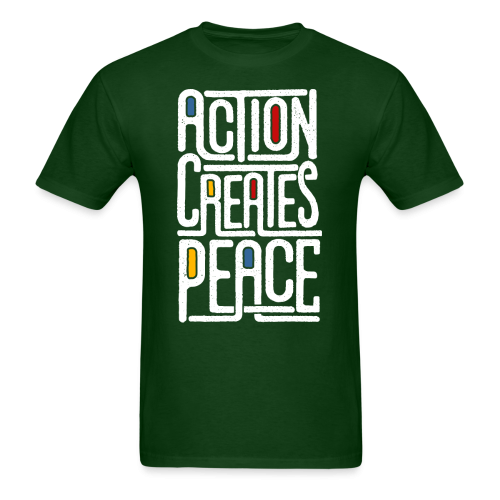 Action creates peace