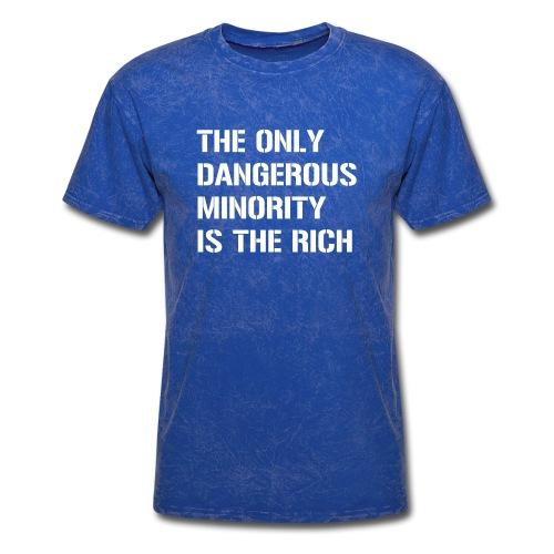 The only dangerous minority is the rich