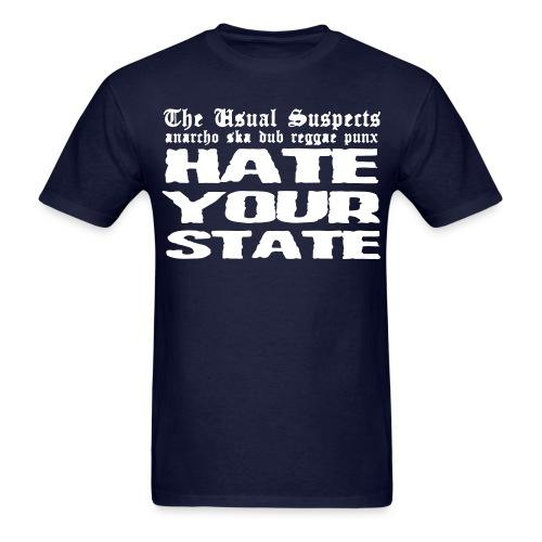 The Usual Suspects - hate your state