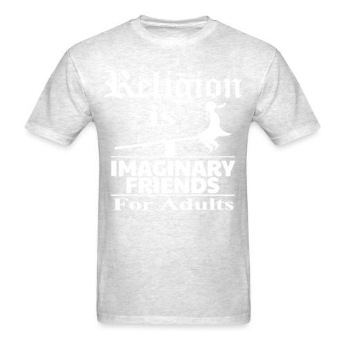 Religion is imaginary friends for adults