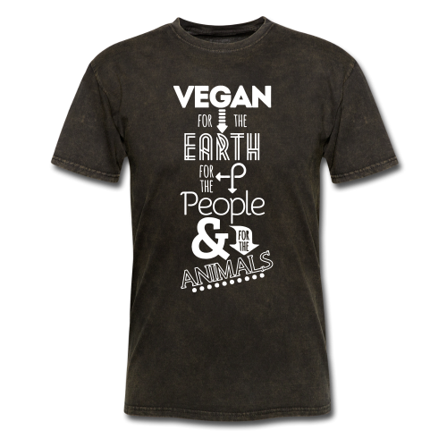 Vegan for the earth, for the people & for the animals