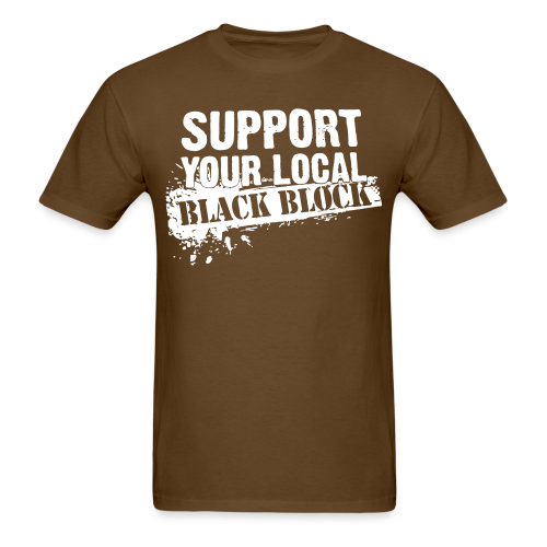 Support your local black block