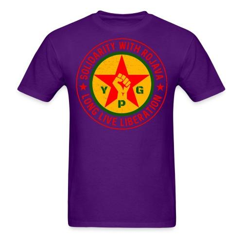 Solidarity with rojava, long live liberation (YPG)
