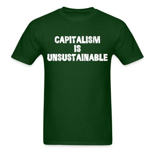 Capitalism is unsustainable