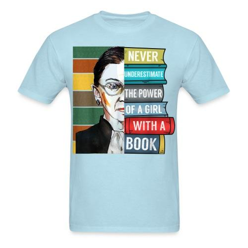 Never underestimate the power of a girl with a book (Ruth Bader Ginsburg)