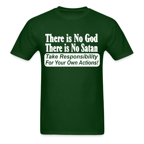 There is no god there is no Satan. Take responsibility for your own actions!