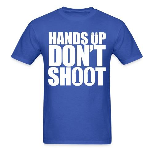 Hands up don't shoot