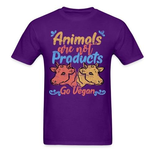 Animals are not products - Go Vegan
