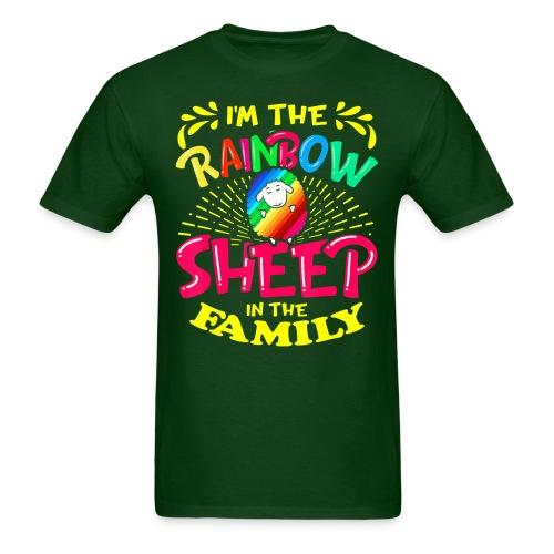 I'm the rainbow sheep in the family
