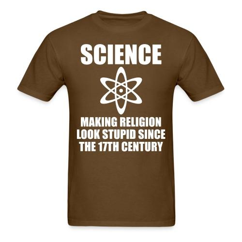 Science - making religion look stupid since the 17th century