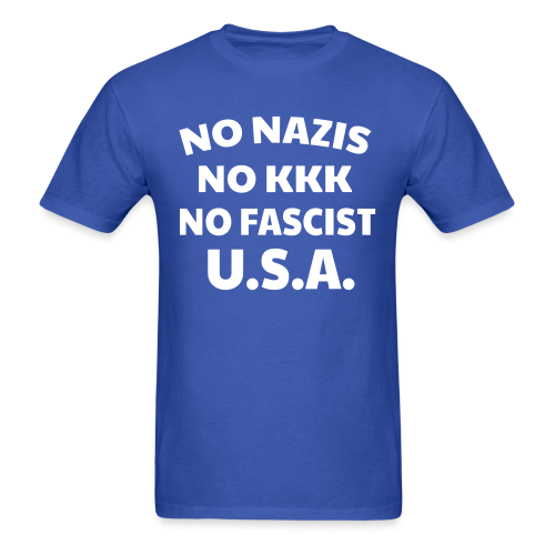 No nazis no kk no fascists USA