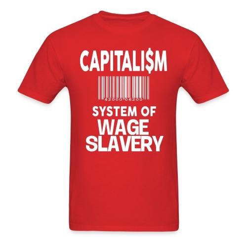 Capitalism: system of wage slavery